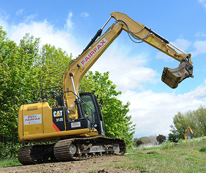 large excavator hire selby, leeds, yorkshire, north england