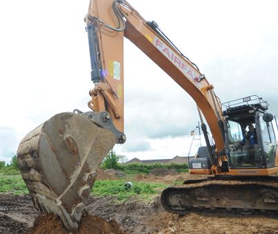 large plant hire yorkshire