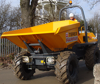 dumper hire in leeds and selby, yorkshire and northern england