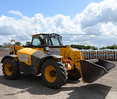 Telescopic Handler hire yorkshire and north of england