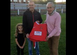 Selby Town FC renew sponsorship deal