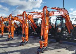 Biggest Ever Plant Order for Fairfax Plant Hire